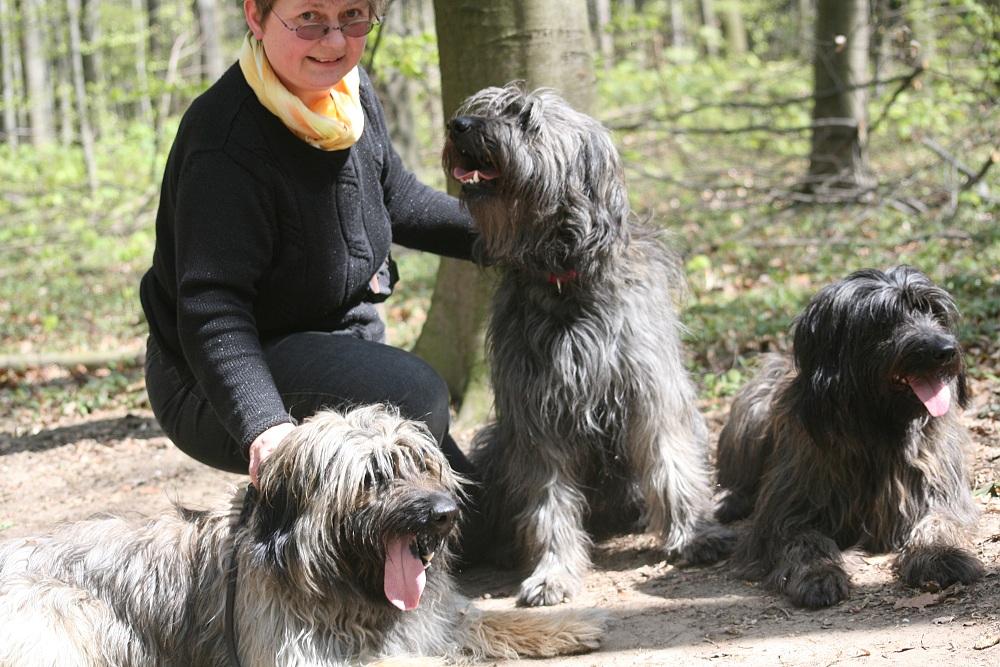 wir besuchten Aurelia mit Benga und Ringo